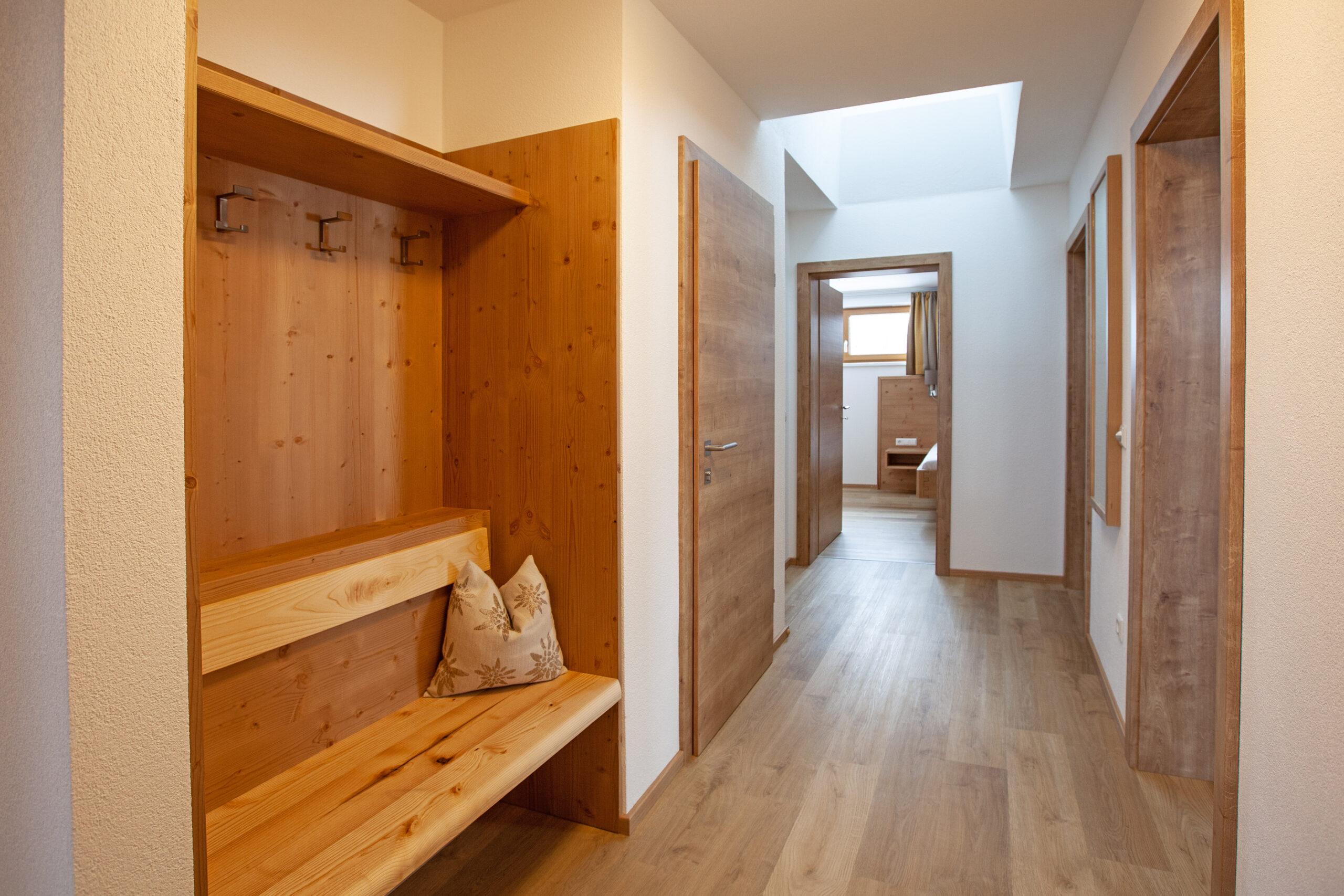 Vorzimmer im Apartment Hochbifang