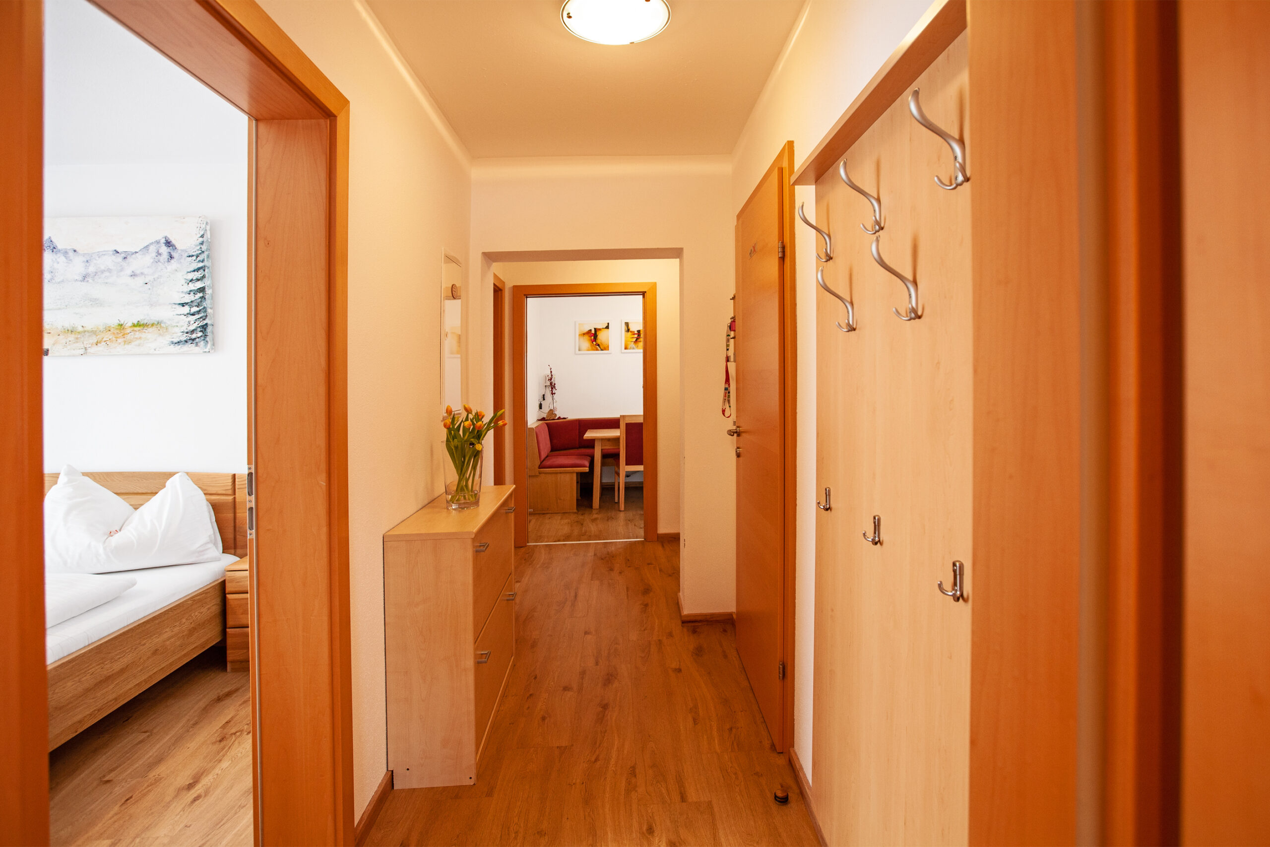 Vorzimmer im Apartment Grießenkar